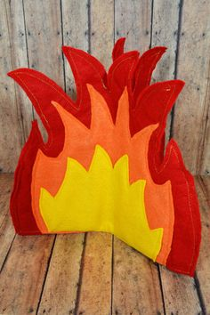 DIY Campfire- Use cardboard or bulletin board paper instead