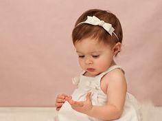 Ivory Baby Headband