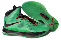 Nike Lebron X China Exclusive Cutting Jade Mens Green Black 212e86e30