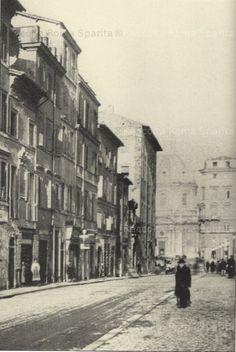 Roma Sparita.  Via Alessandrina negli anni 1920