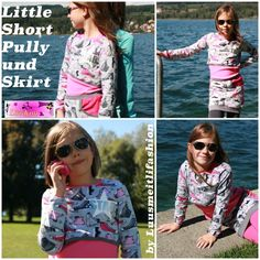 Freebook Linkim Little Short Pully und Skirt ♥ Luusmeitlifashion ♥: September 2015 Nähen http://muggelchens-kuschelwear.blogspot.ch/2015/09/freebook30.html