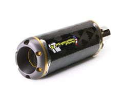 Two Brothers 005-2060407V M-Series Race Carbon Fiber Exhaust Slip-On for 2008-11 Honda CBR1000RR