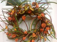 Whispers of Autumn With Burlap Chinese Lanterns Fall Front Door Wreath Wreaths For Door http://www.amazon.com/dp/B00NB7MT80/ref=cm_sw_r_pi_dp_8HSgub0DMMDPR