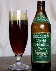 Schlenkerla Rauchbier Eiche, German Beer, Bier, Lager