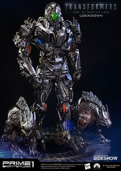 Transformers Lockdown Polystone Statue by Prime 1 Studio | Sideshow Collectibles
