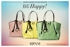 Spring Summer Collection 2015 - model FELICITÀ #feedyourstyle #fashion #handbags #bags #picoftheday #loveit