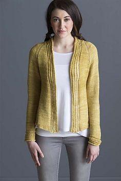 Dropped Stitch Cardigan by Erica Patberg #knitting #sweater