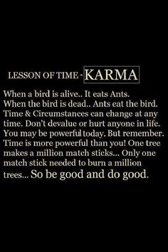 Absolutely ! Do good , be good , feel good coz what goes around comes around!