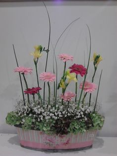 A sudden urge to make a spring like arrangement in the middle of the cold autumn.