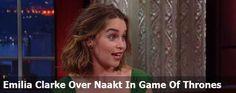 Emilia Clarke Over Het Naakt In Game Of Thrones