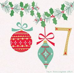 Day 7 Christmas Advent, by Faye Buckingham