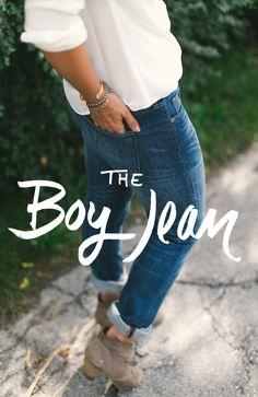Megan Styled:  The Boy Jean     The Fresh Exchange