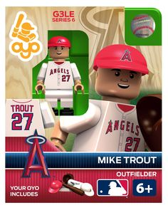 OYO Sports | MLB OYO minifigures...  Already planning for Christmas.  Such a cool and unique idea for the little and grown sports fans in your life;)