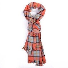 ANDI ROSE Fashion Ladies Soft Houndstooch Checked Plaid Warm Scarf Shawl Wrap (Orange) ANDI ROSE http://www.amazon.com/dp/B00Q2JHPKQ/ref=cm_sw_r_pi_dp_SejOub1DRXQ2F