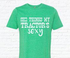 She thinks my tractors sexy parody