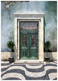 colored portuguese houses - Google zoeken