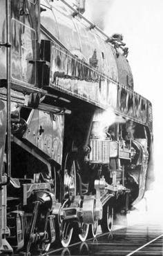 Roger Watt: www.folioart.co.uk/illustration/folio/artists/illustrator/roger-watt - Agency: www.folioart.co.uk - #illustration #art #pencil #vapour