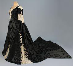 Worth presentation dress worn by Harriet Lane ca. 1898