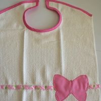 Toddler Dish Towel Bib