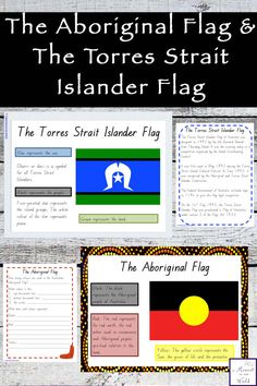 Learn the history about the Australian Aboriginal Flag and the Torres Strait Islander Flag with this informative mini study. Aboriginal Art For Kids, Aboriginal Flag, Aboriginal Education, Indigenous Education, Aboriginal Culture, Naidoc Week Activities, Class Activities, Toddler Activities, Multicultural Activities