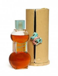 1934 Elizabeth Arden Blue Grass Perfume Bottle