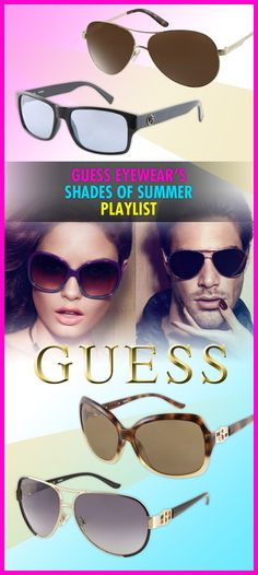 Rock Out to GUESS Eyewear's Shades of Summer