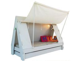 Qué chulada. Tent Bed BoboKids
