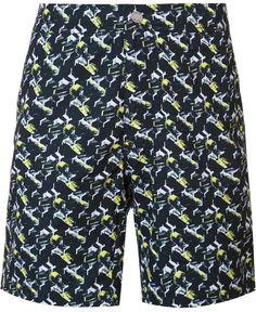 Onia 'Calder' swim shorts Men's Swimsuits, Swim Shorts, Patterned Shorts, Swimming, Stylish, Tops, Fashion, Swim, Moda