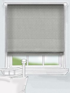 the fabric is woven beautifully to create a lovely rough and textured effect that is complimented wonderfully by the cool steel colour flecked with strands of warmth that give this blind a real sense of character and drama... #thermal #roman #blind