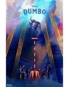 Disney Movie Posters, Movie Poster Art, Disney Films, Disney Pixar, Disney Live, Walt Disney, Dumbo Disney, Cartoon Posters, Cartoon Art