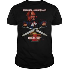 Childs Play 2 Chuckys Back T-Shirts, Hoodies. ADD TO CART ==► https://www.sunfrog.com/Movies/Childs-Play-2-Chuckys-Back.html?id=41382