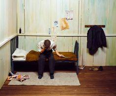 Minature Noir crime scenes, Jonah Samson