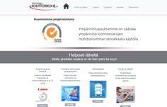 Viitasaaren Konttorikone Oy Sivut toeteutti TeamProg