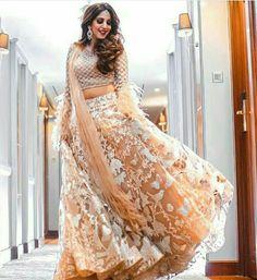 Unique Bridal Lehenga designs that is every Bride's pick in Indian Lehenga, Lehenga Choli, Saree, Choli Dress, Pakistani, Indian Look, Indian Wear, Indian Dresses, Indian Outfits
