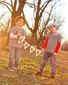 Finley and Oliver: DIY Valentine's Banner