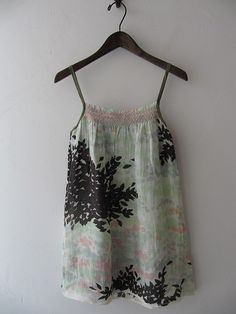 drop thrift shop purchase / Actual purchase water lily Mina perhonen camisole / [drop]