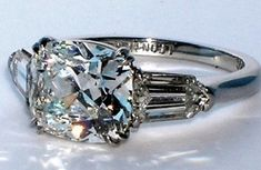 Cushion Cut Diamonds.