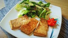 Tofu marinato alla piastra