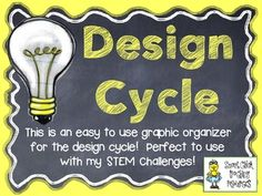 STEM Design Cycle ~ FREE Graphic Organizer