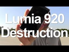 Nokia Lumia 920 goes up against a car, a bat and a lamp post in durability test