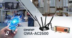A QNAP bejelentette a QWA-AC2600 vezeték nélküli adaptert