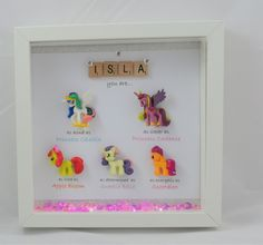 A personal favourite from my Etsy shop https://www.etsy.com/uk/listing/465135457/personalised-my-little-pony-gift-special