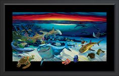 Disney- Finding Nemo- Click to enlarge- Wyland's galleries