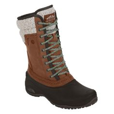 The North Face Shellista II Mid Boot Womens Dachshund Brown/Demitasse Brown 7   Amazon.com