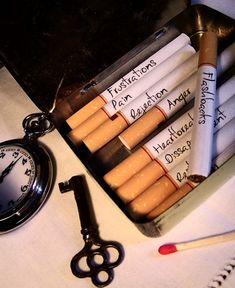 If I would smoke..