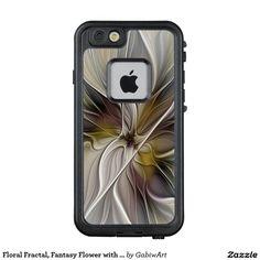 Floral Fractal, Fantasy Flower with Earth Colors LifeProof® FRĒ® iPhone 6/6s Case