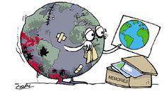 Estamos viviendo en este planeta como si tuviéramos otro en donde vivir.