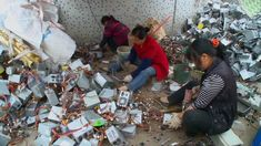 """""""According to United Nations data, about 70% of electronic waste globally generated ended up in China,"""""""