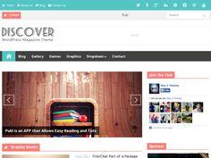 Discover Responsive Blogger Teması (Türkçe) indirebilirsiniz. Magazin,teknoloji,oyun ve geniş çaplı bloglar için uygun bir tema.