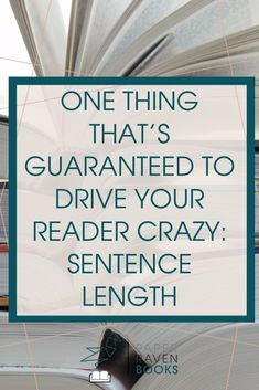 You might have a sentence length problem in your writing. And it's probably driving your reader's crazy! Learn what the problem is with your sentence length and how to fix it! #writingtips